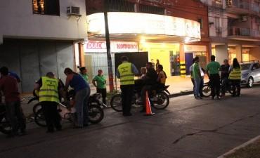 La municipalidad continúan los operativos de control de motos