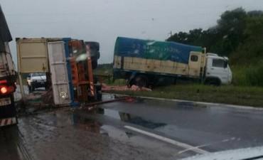 Accidente Ruta 11 cerca de las Palmas