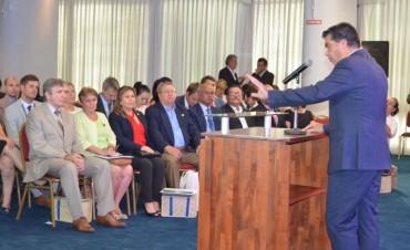 Capitanich participó del encuentro con embajadores de América Central, África, Asia y Europa
