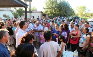 Nutrida agenda de trabajo del Municipio junto a vecinos del barrio Mariano Moreno