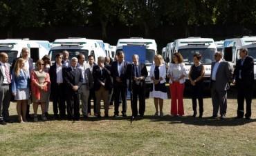 CHACO RECIBIÓ AMBULANCIAS PARA REFORZAR EL SERVICIO DE TRASLADO DEL SISTEMA SANITARIO LOCAL