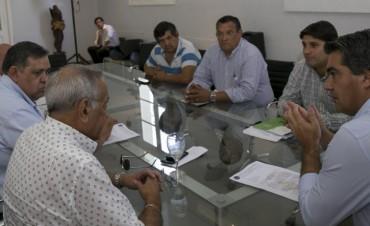 Capitanich se reunió con la comisión directiva del Sindicato de Trabajadores Municipales