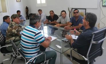 Capitanich se reunió con excombatientes de Malvinas que cumplieron funciones en el municipio