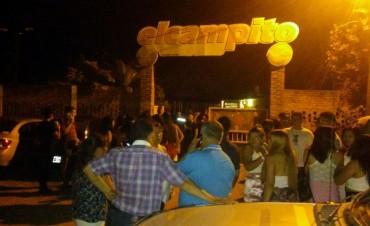 El municipio clausuró una fiesta clandestina