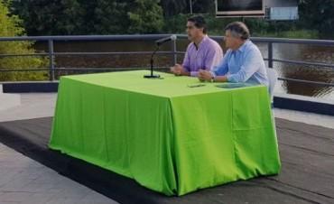 Capitanich y Peppo firmaron acuerdo por los terrenos del parque 2 de Febrero