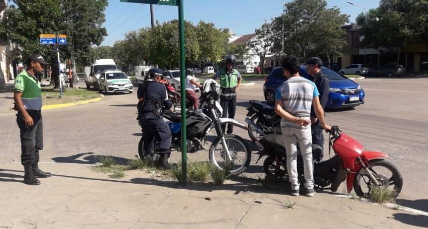 El Municipio y la Caminera continúan con los dispositivos móviles y controles en semáforos