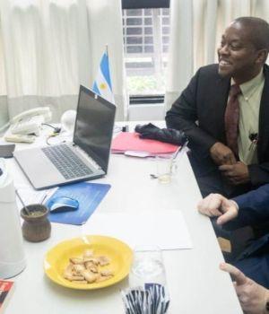 Kicillof se reunió con enviados del FMI