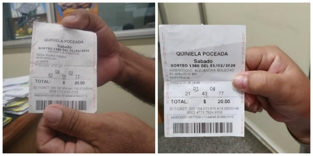 Poceada chaqueña: Una portera de Resistencia y un jornalero de La Verde compartieron un premio de $6,2 millones