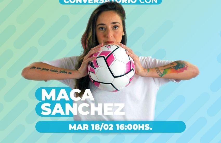 Maca Sánchez presentará junto a Capitanich el Consejo Provincial de Juventudes