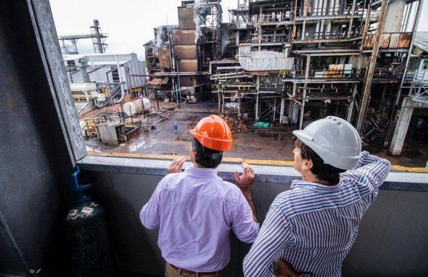 Capitanich recorrió la Planta de biomasa INDUNOR y destacó la producción de energías renovables
