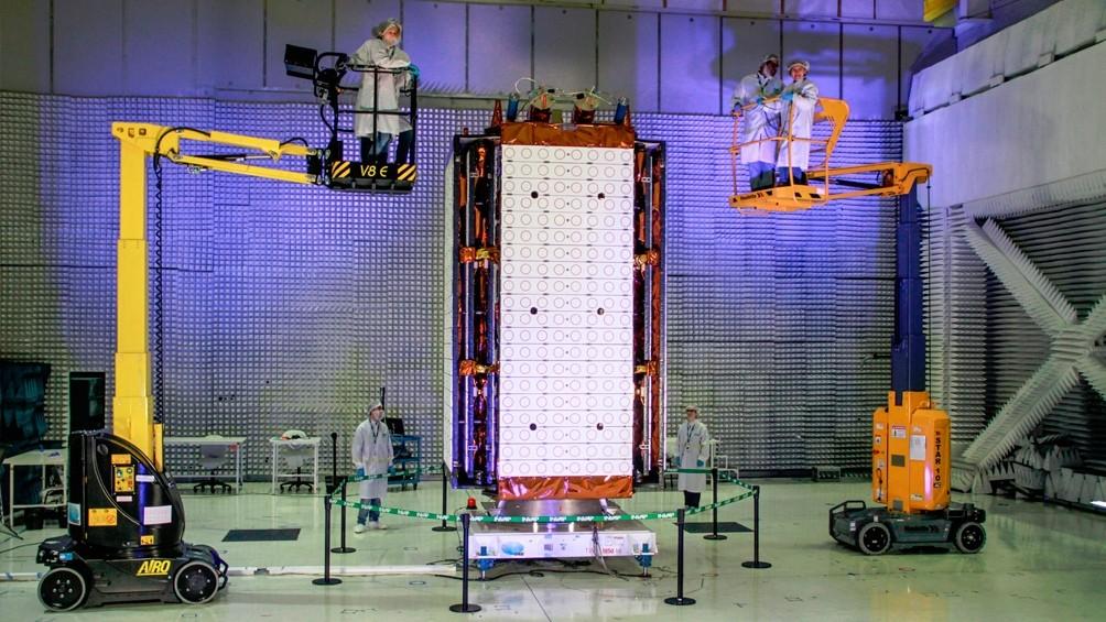 El satélite SAOCOM 1B parte a Estados Unidos, desde donde será lanzado al espacio