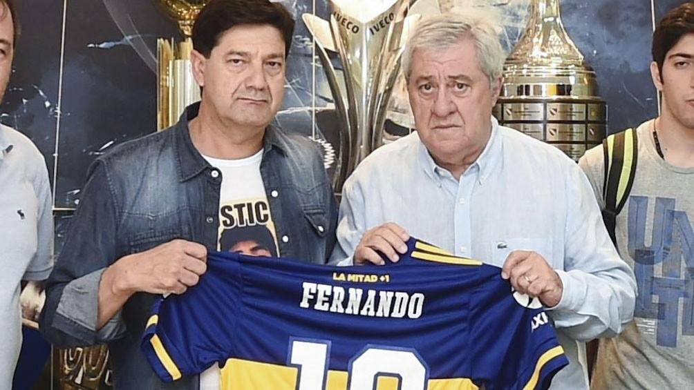 El padre de Fernando Báez Sosa fue recibido por Jorge Ameal