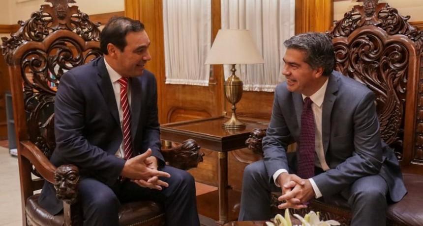 Capitanich y Valdés trazaron acciones para lograr el financiamiento que permita ejecutar el segundo Puente Chaco-Corrientes