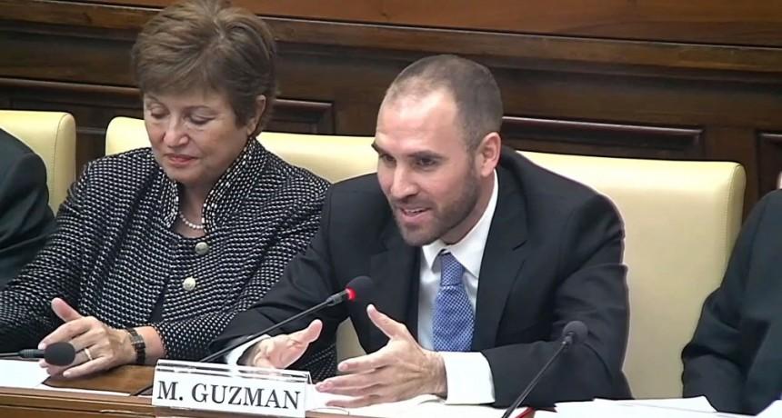 Guzmán adelantó que la Argentina pedirá reestructurar la deuda con el Club de París