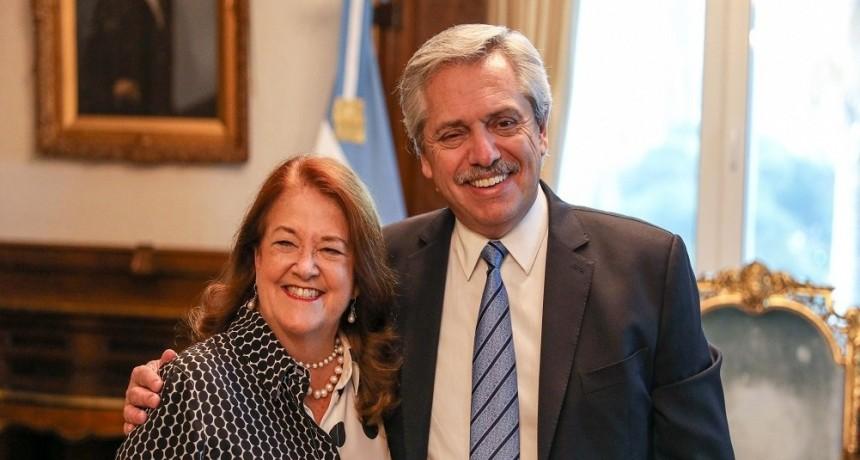 El Presidente se reunió con Alicia Castro, futura embajadora en Rusia