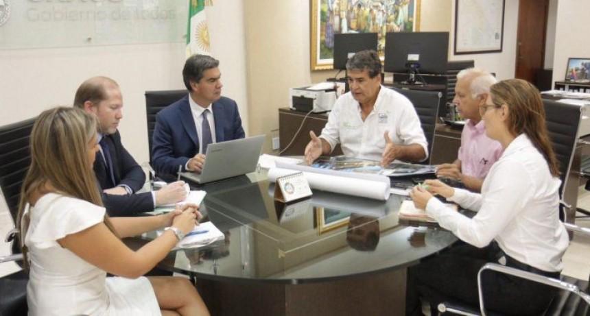 El Gobierno y Ciudad Limpia acordaron acciones para poner en funcionamiento la Casa Garrahan