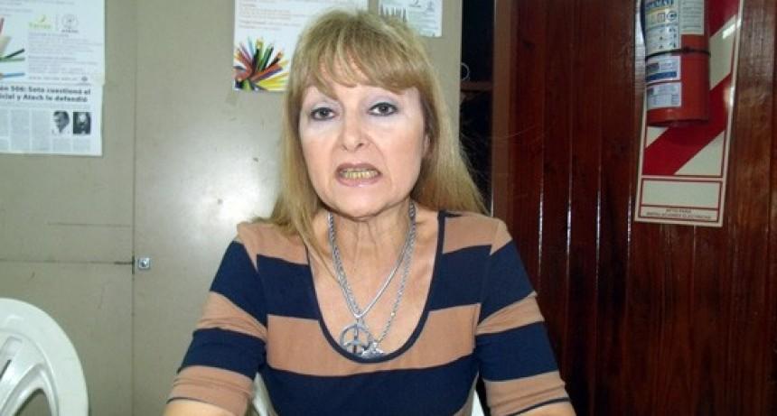 """Rosa Petrovich: """"Sin la definición de una pauta salarial para el 2020 no comenzarán clases el próximo 2 de marzo"""""""