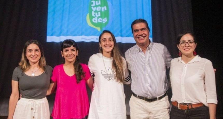 Capitanich y Macarena Sánchez y Capitanich presentaron el Consejo Provincial de Juventudes
