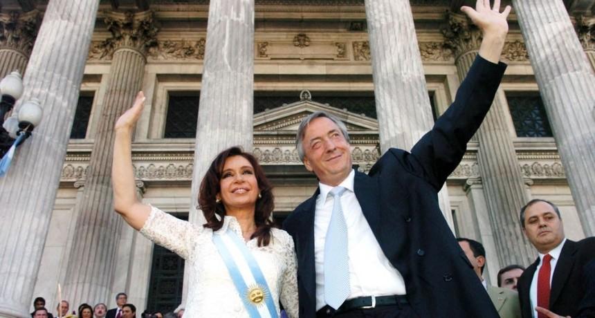 Cristina recordó a Néstor Kirchner como un