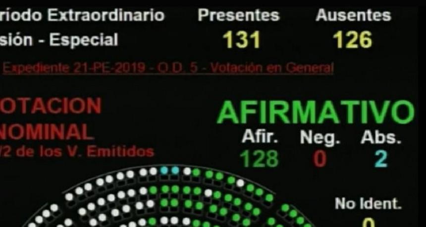 La Cámara de Diputados aprobó la ley que modifica las jubilaciones de privilegio
