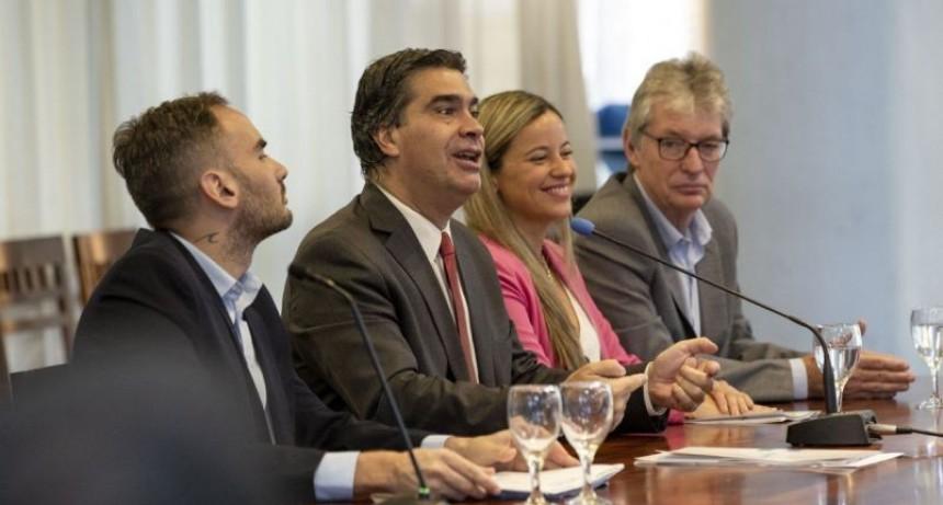 Capitanich proyectó una inversión de 15 mil millones de pesos en obras públicas para el 2020