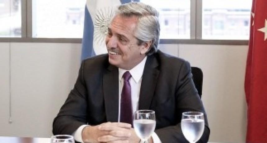 Alberto Fernández destacó la moratoria fiscal para las Pymes