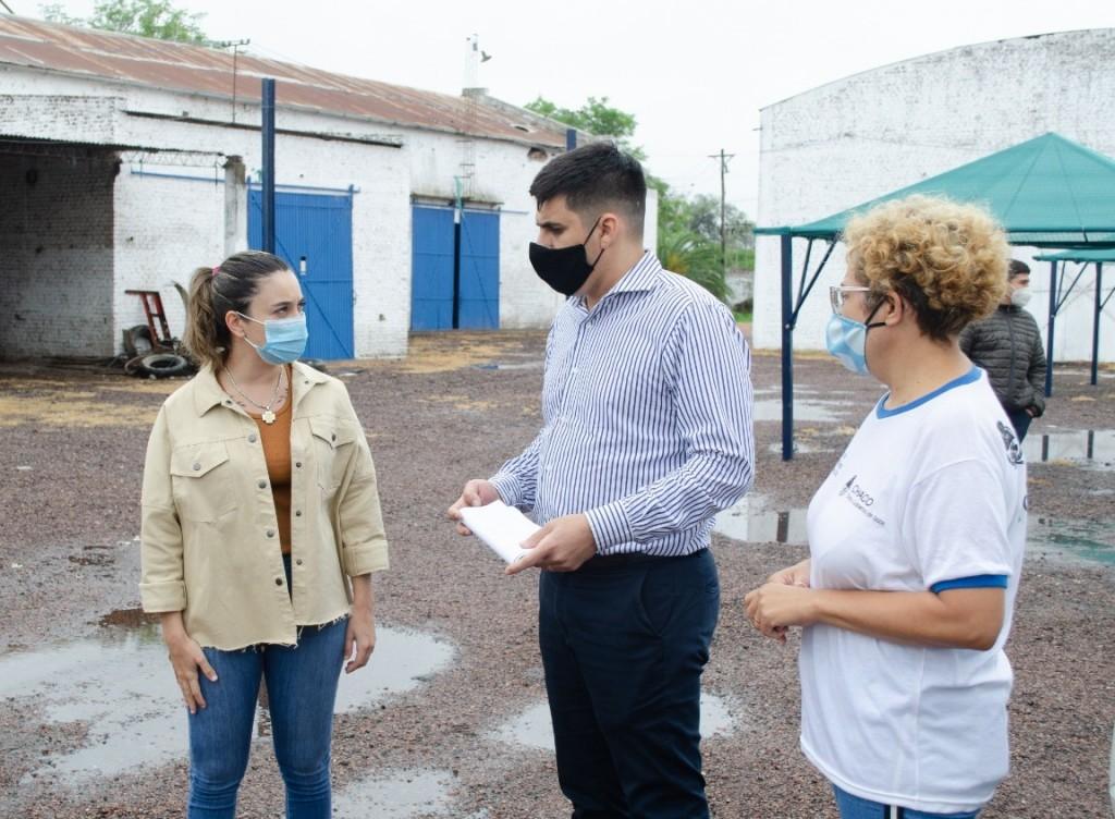En Corzuela y Pinedo, desarrollo social ratificó el compromiso de promover empleo y obras comunitarias