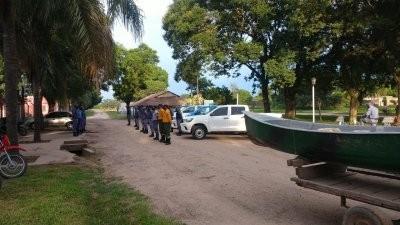 Continúa la búsqueda de las personas que cayeron al Rio Bermejo