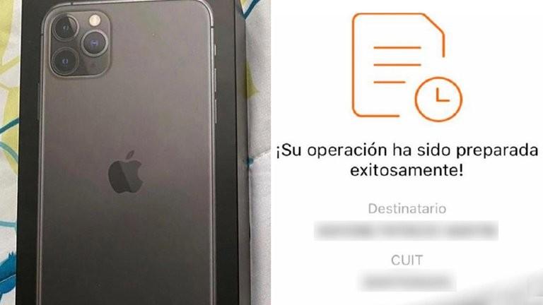 """El elaborado engaño que sufrió una compradora de un Iphone: """"No soy una caída del catre y me estafaron igual"""""""