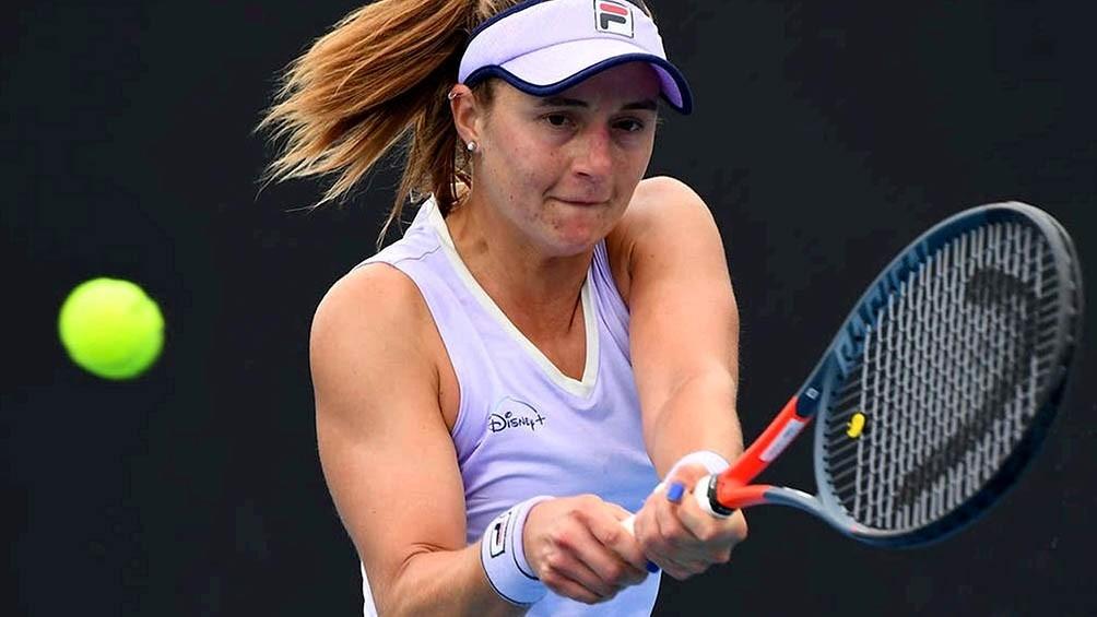 Nadia Podoroska quedó eliminada en Australia