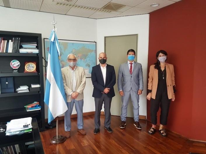 El sello CAME Sustentable fue presentado en Cancillería ante el Embajador Pablo Sívori