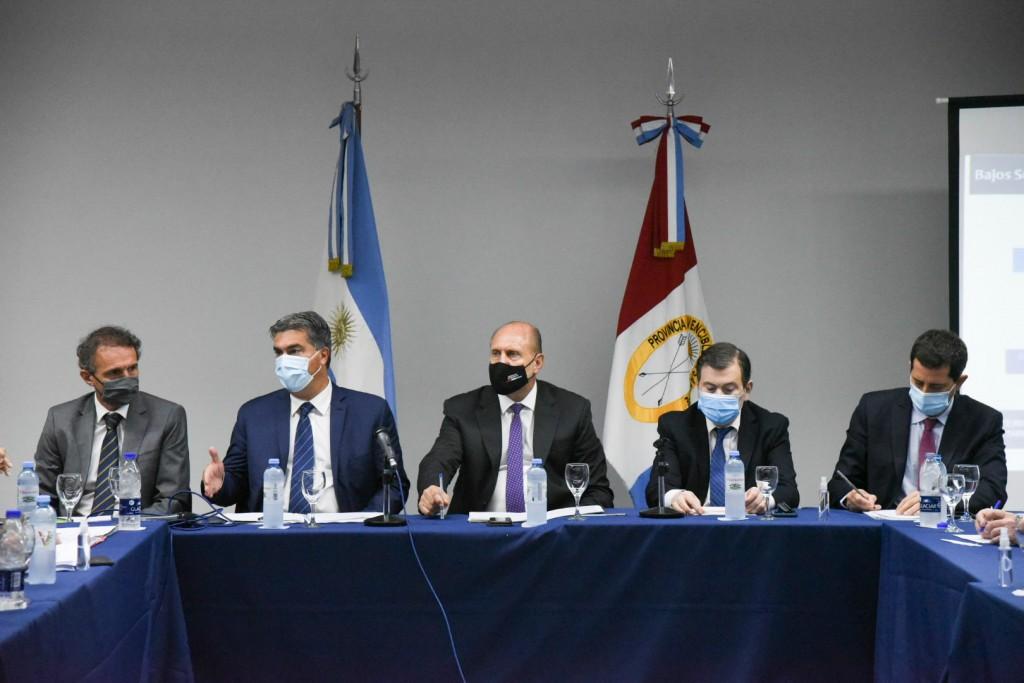 Capitanich Participó Del Encuentro Del Comité De Bajos Submeridionales
