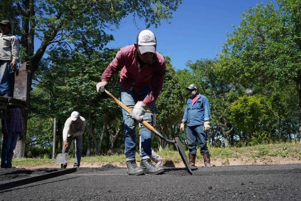 El programa argentina hace avanza con obras en localidades chaqueñas