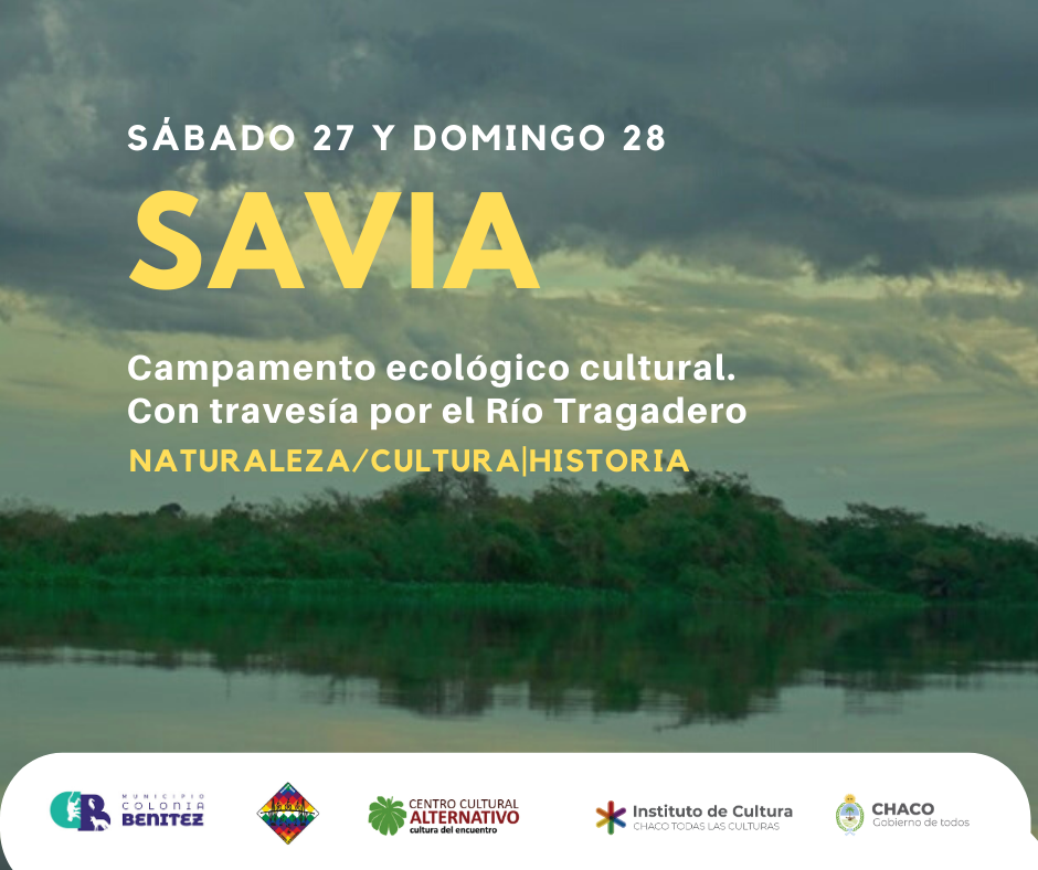 Campamento ecológico y cultural a orillas del río Tragadero