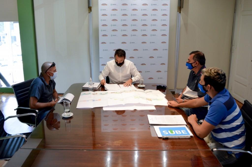 Lotería Chaqueña proyecta obras para el club sportivo de Sáenz Peña