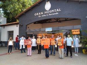 Protestas de salud pública en toda la provincia encabezadas por APTASCH
