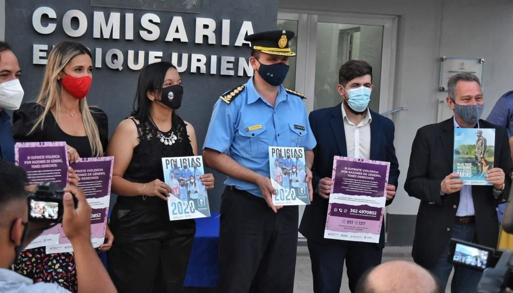 El estado provincial invierte en seguridad pública en Enrique Urien