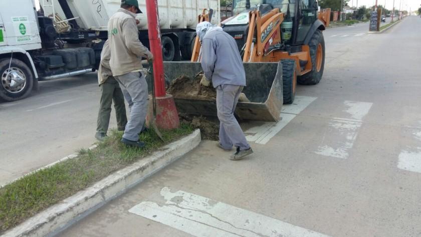 El Municipio concretó nuevos operativos de limpieza en varios puntos de la ciudad
