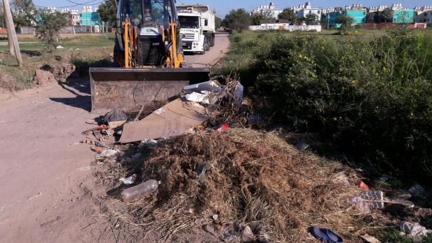Múltiples operativos de limpieza del Municipio en diferentes puntos de la ciudad