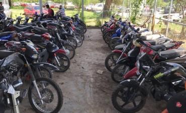 El municipio prepara subasta de más de 70 motovehículos