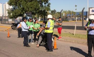 Nuevos operativos de tránsito del municipio dejan como saldo 75 motos secuestradas