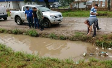 Contingencia hídrica: Capitanich recorrió zonas afectadas por las lluvias y activó el sistema de prevención ante emergencia