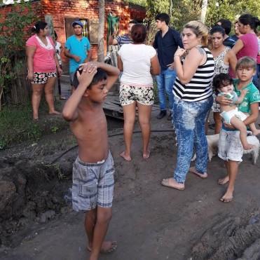 Municipio asiste a familias afectadas por las  lluvias