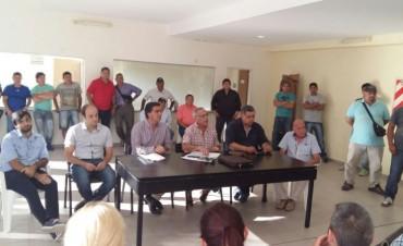 El Municipio y el STM se reunieron para evaluar el funcionamiento de la Guardia Urbana Comunitaria