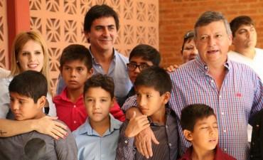 PEPPO INAUGURÓ LAS REFACCIONES INTEGRALES DEL PEQUEÑO HOGAR Nº 2 DE RESISTENCIA