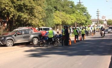 El municipio realizó otro amplio operativo de tránsito y seguridad vial donde se secuestraron 33 motos