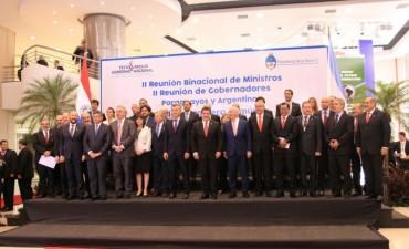 REUNIÓN BINACIONAL EN PARAGUAY: PEPPO REMARCÓ LOS TRABAJOS DE CHACO PARA FORTALECER UN DESARROLLO INTEGRAL ENTRE AMBOS PAÍSES