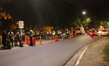 El municipio amplia los controles viales nocturnos a los días entre semana