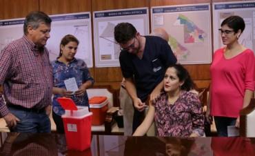 PEPPO LANZÓ LA CAMPAÑA DE VACUNACIÓN ANTIGRIPAL