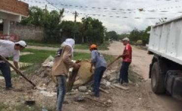 El municipio ejecutó múltiples operativos de limpieza en distintos puntos de la ciudad